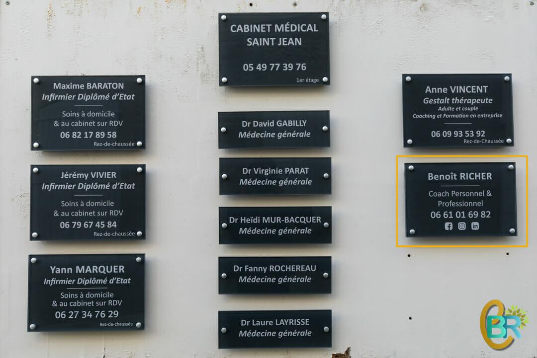 Contactez-moi | Coordonnées de mon cabinet de Coaching à Niort